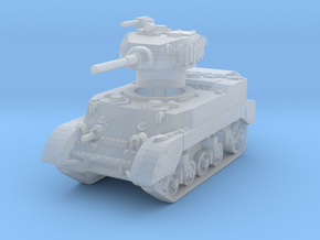 M5A1 Stuart late 1/285 in Smooth Fine Detail Plastic