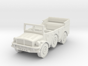 horch 108 (window up) 1/76 in White Natural Versatile Plastic