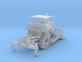 Caterpillar D7R XR Crawler Z Scale in Smooth Fine Detail Plastic