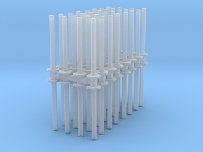 Traffic Pylon (x64) 1/120 in Smooth Fine Detail Plastic