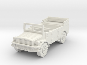Horch 108A (Window Up) 1/87 in White Natural Versatile Plastic