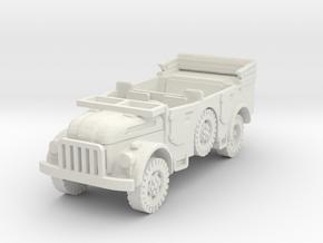 Steyr 1500 1/87 in White Natural Versatile Plastic