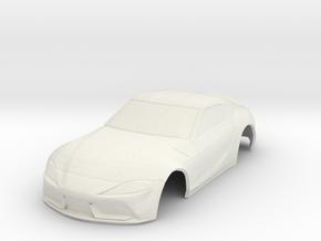 2020 Toyota Supra A90 MiniZ in White Natural Versatile Plastic