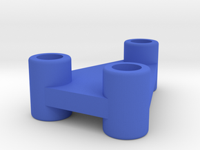 Gyro Connector in Blue Processed Versatile Plastic