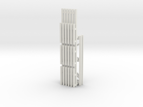42X96 & 144 Beam Kit 1-87 HO Scale in White Natural Versatile Plastic