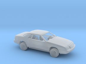 1/87 1993-95 Chrysler Le Baron Coupe Kit in Smooth Fine Detail Plastic
