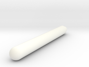 birdhouse landing bar in White Processed Versatile Plastic