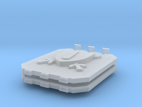 Blood and Shield God Hammer tank doors lite in Smooth Fine Detail Plastic