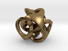Ora Pendant (smaller) in Natural Bronze