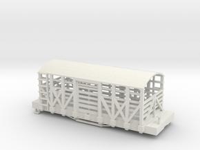 S USMRR LIVESTOCK in White Natural Versatile Plastic