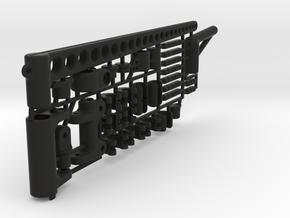 "RIG SET for Micromagic ""5 mm mast"" in Black Natural Versatile Plastic"