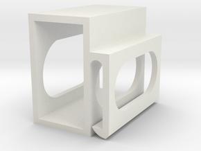 Oculus Quest Battery Holder 25mm x 45mm in White Natural Versatile Plastic