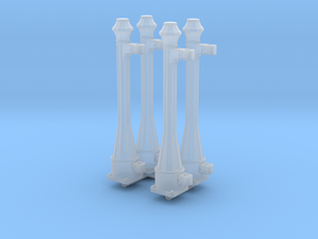 EP46 NSR gate posts in Smooth Fine Detail Plastic