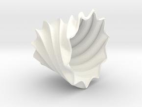Multifunctional Desk Vase in White Processed Versatile Plastic