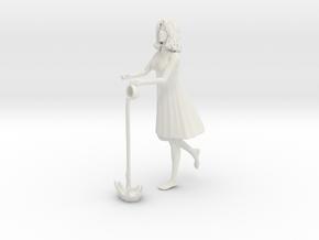 Printle C Femme 853 - 1/32 - wob in White Natural Versatile Plastic