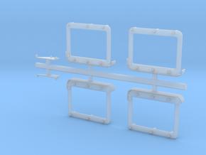 M1165 Standard Threat doors - conversion set in Smooth Fine Detail Plastic
