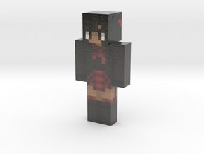 skin(5)   Minecraft toy in Glossy Full Color Sandstone