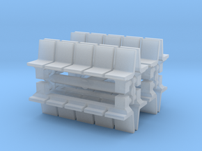 Platform Seats (x8) 1/220 in Smooth Fine Detail Plastic