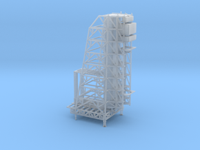 1/2500 Scale Apollo Arming Tower in Smooth Fine Detail Plastic