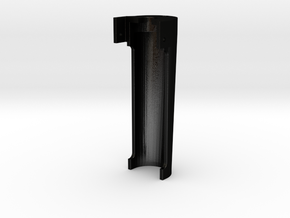 Godshall waterglass light in Matte Black Steel