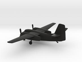 Grumman C-1 Trader in Black Natural Versatile Plastic: 1:144