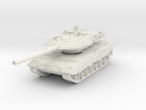 Leopard 2A6 1/120 in White Natural Versatile Plastic