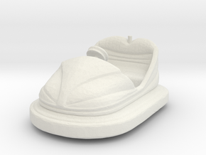 Bumper Car 1/56 in White Natural Versatile Plastic