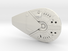 DCH Talon Spaceship - Concept Design Quest in White Natural Versatile Plastic