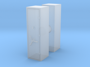 Large Safe (x2) 1/76 in Smooth Fine Detail Plastic