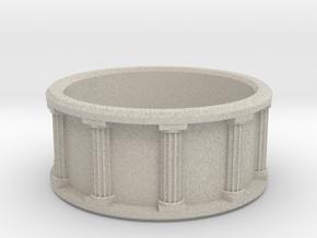 Pillar Ring in Natural Sandstone