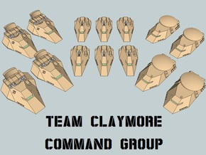 """""""Team Claymore"""" 3mm Anti-Grav HQ Group (14pcs) in Smooth Fine Detail Plastic"""