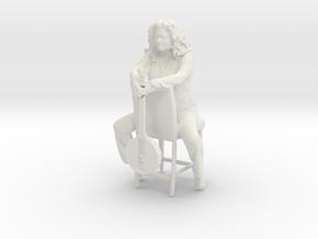 Printle C Femme 754 - 1/24 - wob in White Natural Versatile Plastic