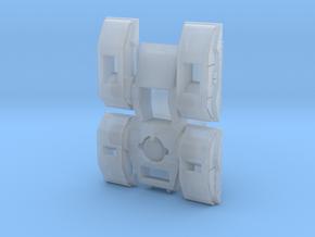 Hal0 M808scorpion tank in Smoothest Fine Detail Plastic: 1:400