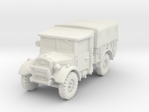 Fordson WOT-2E (closed) 1/87 in White Natural Versatile Plastic