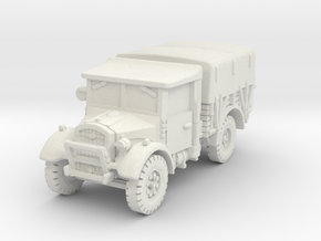 Fordson WOT-2E (closed) 1/72 in White Natural Versatile Plastic