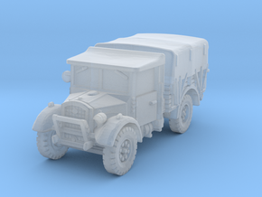 Fordson WOT-2E (closed) 1/144 in Smooth Fine Detail Plastic