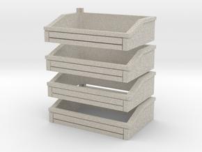 Ballast Bins in Natural Sandstone