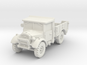 Fordson WOT-2F (open) 1/72 in White Natural Versatile Plastic