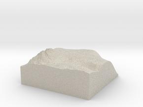 Model of Grande Mare in Natural Sandstone