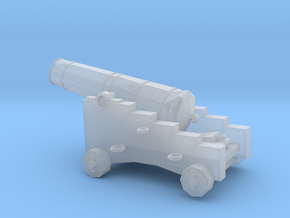 1/96 Scale 12 Pounder Naval Gun in Smooth Fine Detail Plastic