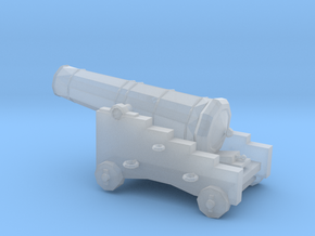 1/72 Scale 18 Pounder Naval Gun in Smooth Fine Detail Plastic