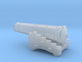 1/72 Scale 42 Pounder Naval Gun in Smooth Fine Detail Plastic