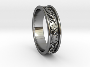 Wedding Ring in Premium Silver