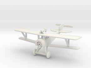 1/100 (15mm) Nieuport 11  in White Natural Versatile Plastic