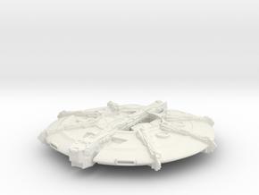 mothership UFO in White Natural Versatile Plastic