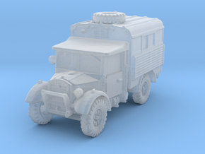 Fordson WOT-2D Radio 1/285 in Smooth Fine Detail Plastic