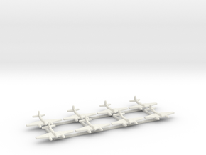 De Havilland Sea Hornet F20 1:700 in White Natural Versatile Plastic
