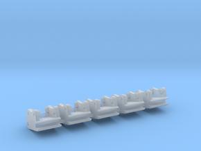 Schnellwechsler QC8 / quick coupler 6.3mm in Smooth Fine Detail Plastic: 1:50