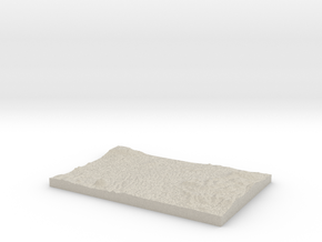 Model of Darsavak in Natural Sandstone