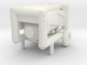Portable Generator 1/35 in White Natural Versatile Plastic